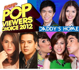 ASAP Pop Viewers Choice Awards 2012 Launch this October 7 Plus Toni, Luis, Vice, Bea and JLC and X Factor Final 3 - Gab, KZ and Daddy's Home