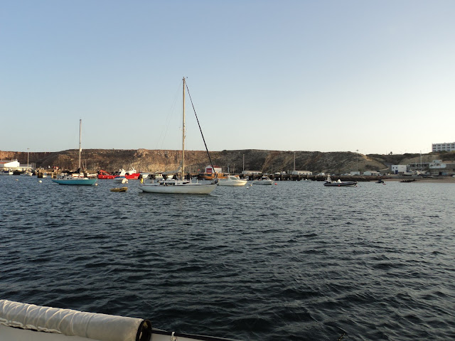 Sagres anchorage