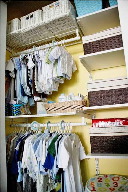 Artesanato Em Madeira ~ Vivir lo mejor Ideas para organizar el armario del bebé