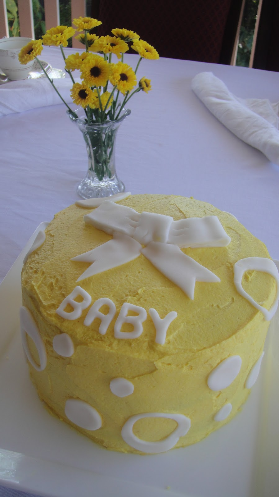 Cake Baby Shower Recipes : Baby Shower Cakes: Simple Baby Shower Cake Recipes
