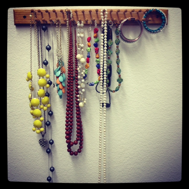 tucker up diy necklace organizer for 1