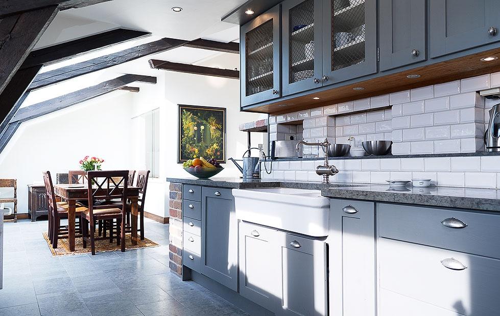 Meble do kuchni Kuchnia na poddaszu -> Kuchnia Na Poddaszu Wymiary