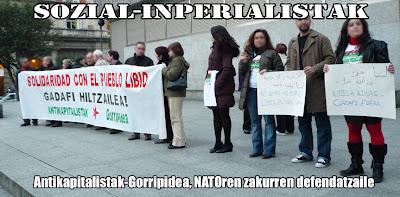 Libia. Internacionalismo proletario frente a apoyo a bandos capitalistas. GORRIPIDEA+copia