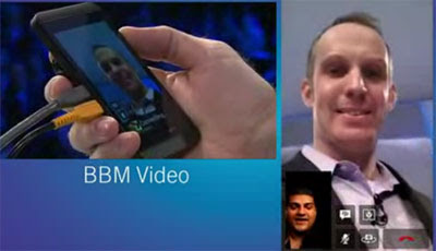 BBM Video di BlackBerry 10