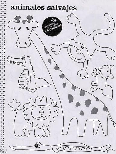 Animales De La Selva Para Imprimir