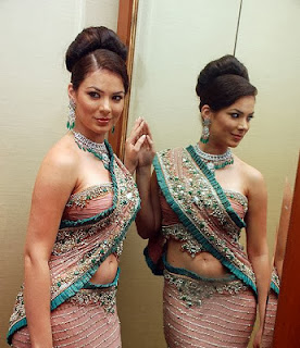 Latest Indian Saree Blouse 2012-2013 Neck Patterns Latest Images
