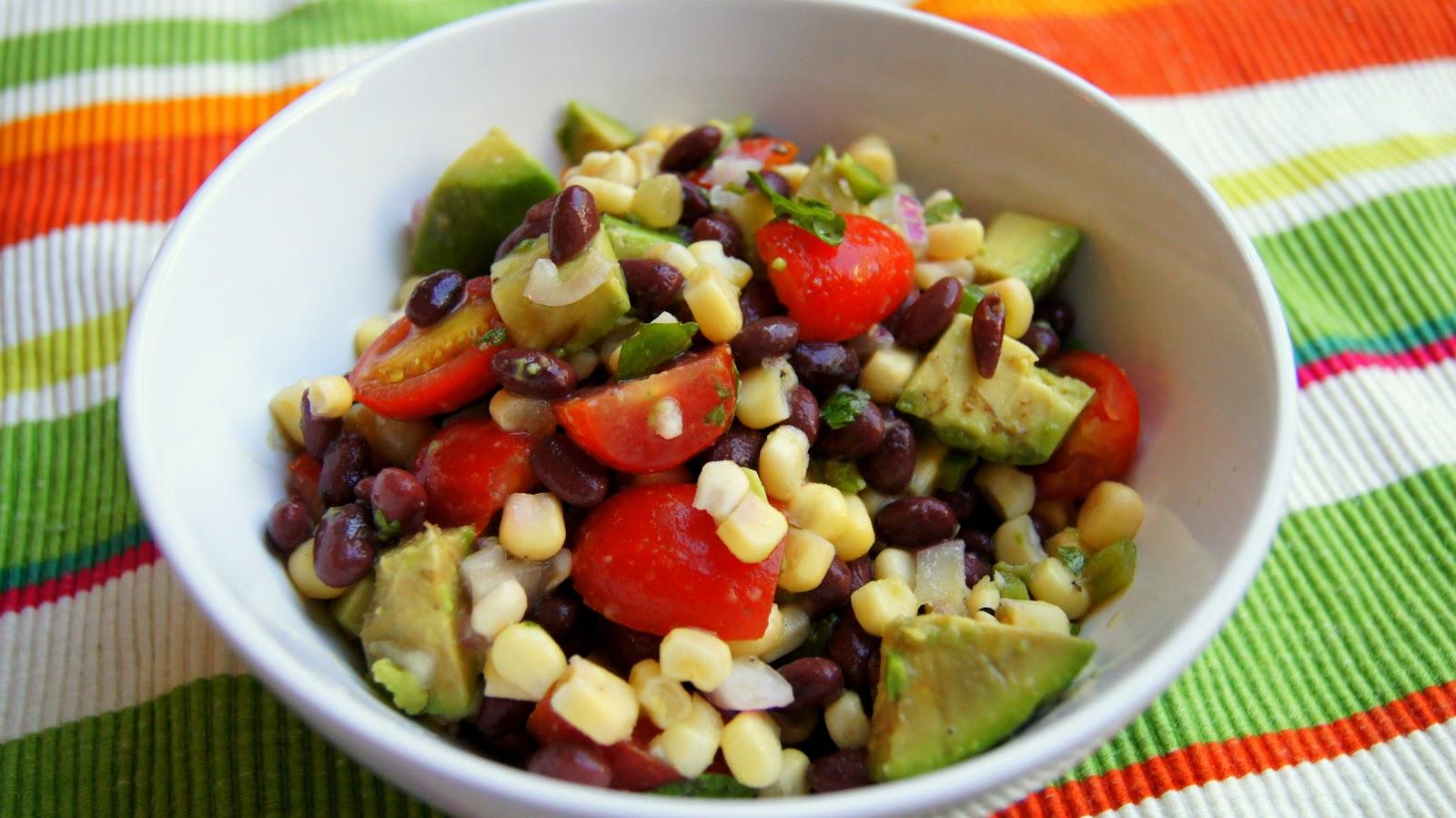 ... Dutch Oven: Southwestern Black Bean, Corn, Tomato, and Avocado Salad