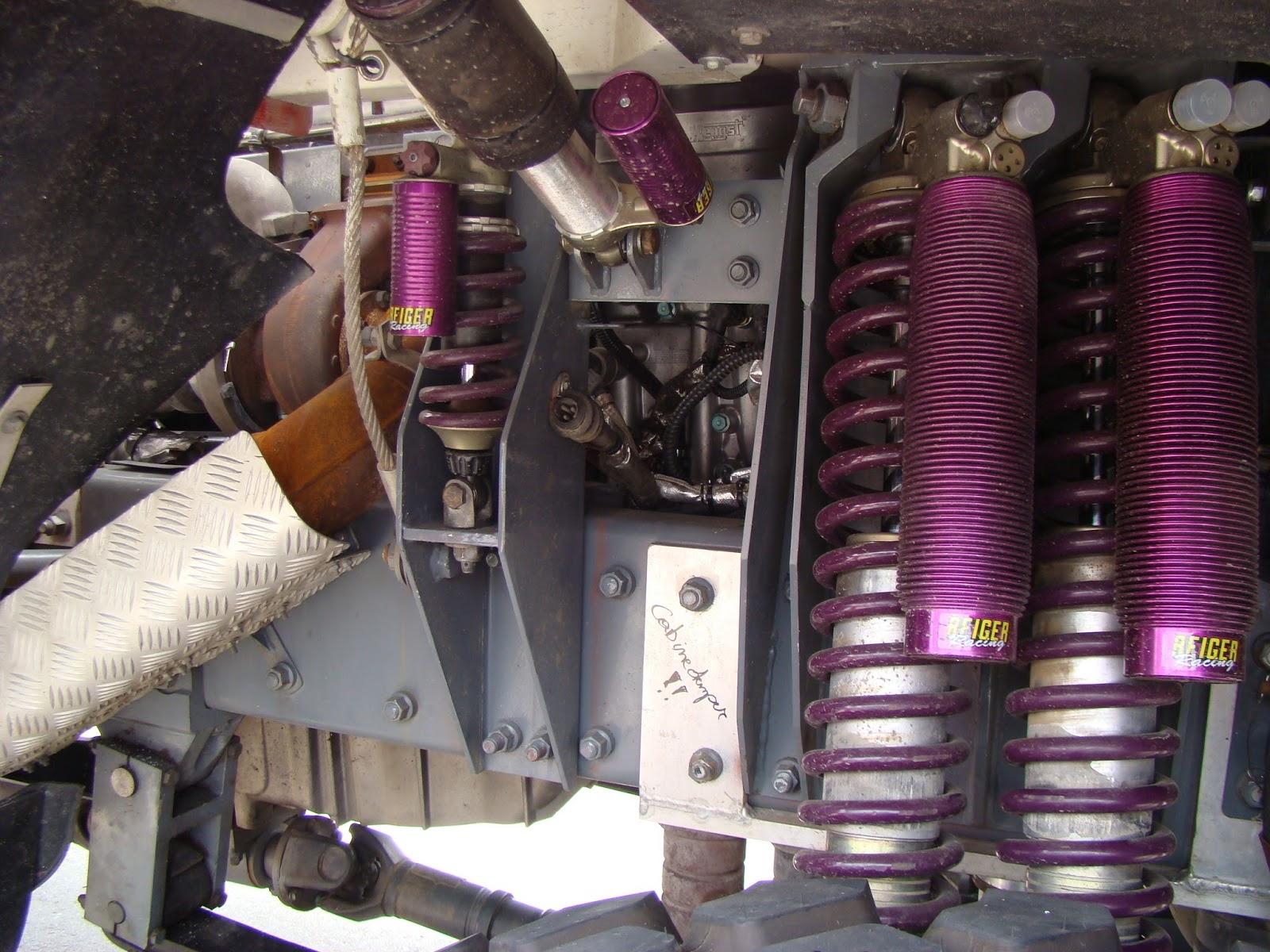 Amortiguador De Cabina International : Dieciocho ruedas reiger el amortiguador del dakar u mas usado por