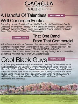 COACHELLA 2012 Line Up!