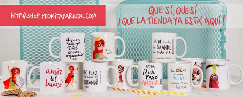 Shut up and take my money. La tienda online de Pedrita Parker