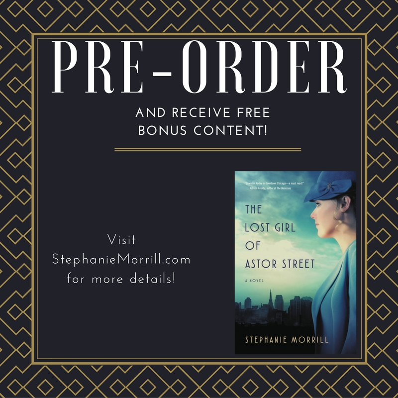 Pre-order The Lost Girl of Astor Street!