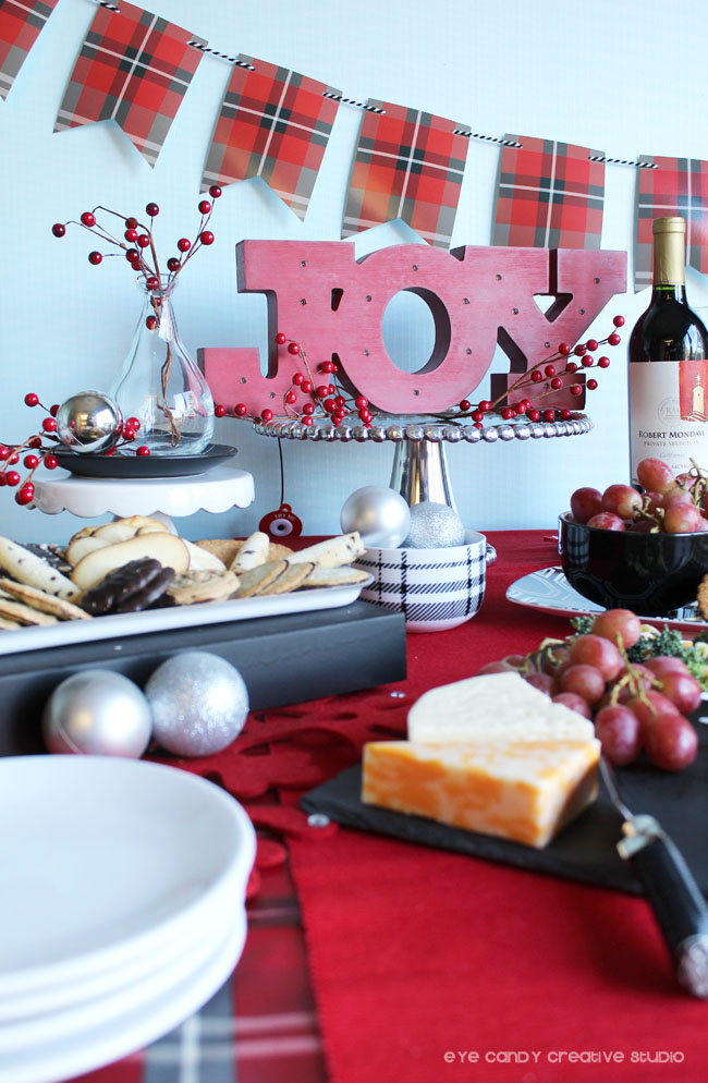 serving pieces for holiday party, tips for holiday entertaining, joy