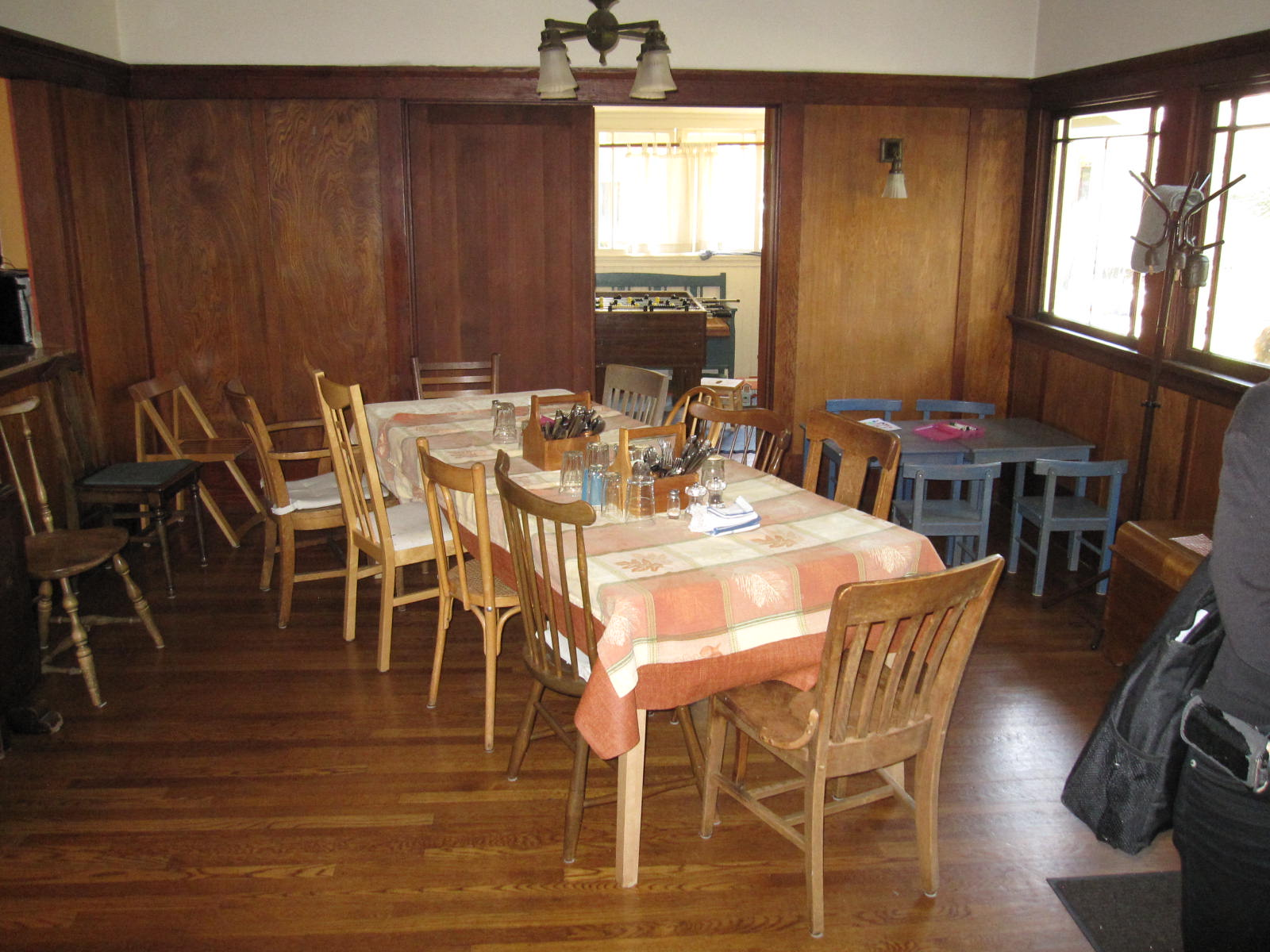 It 39 s a co op national cohousing conference 2012 part one for Tejas dining room at t conference center