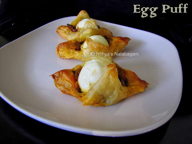 Egg Puffs | Step by step pictures