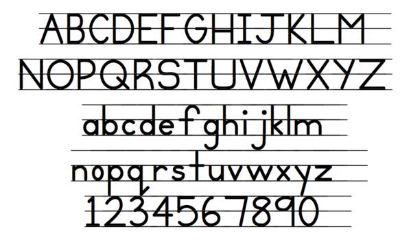 fancy writing font generator
