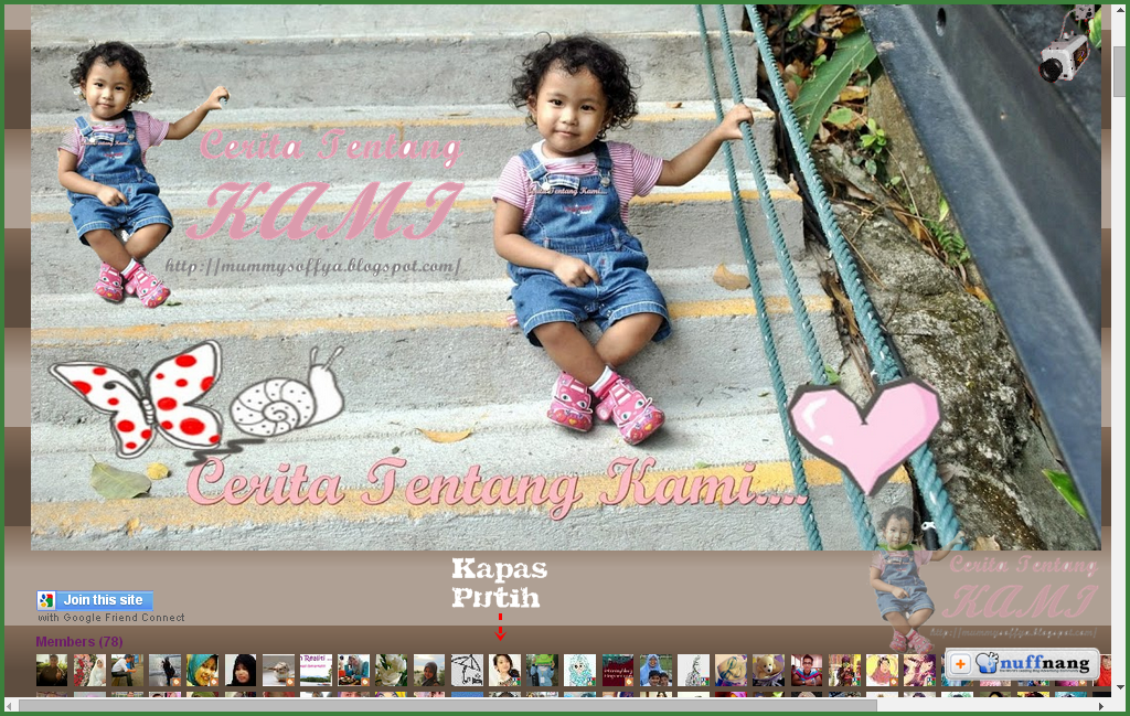 Lucky blogger no 16 - Segmen: Saya nak watermark by kapas-putih.blogspot.com