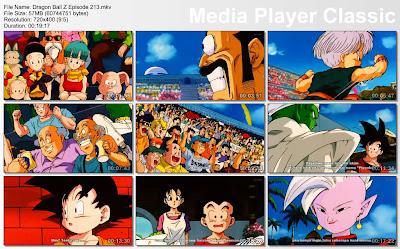 Download Film / Anime Dragon Ball Z Majin Buu Saga Episode 213 Bahasa