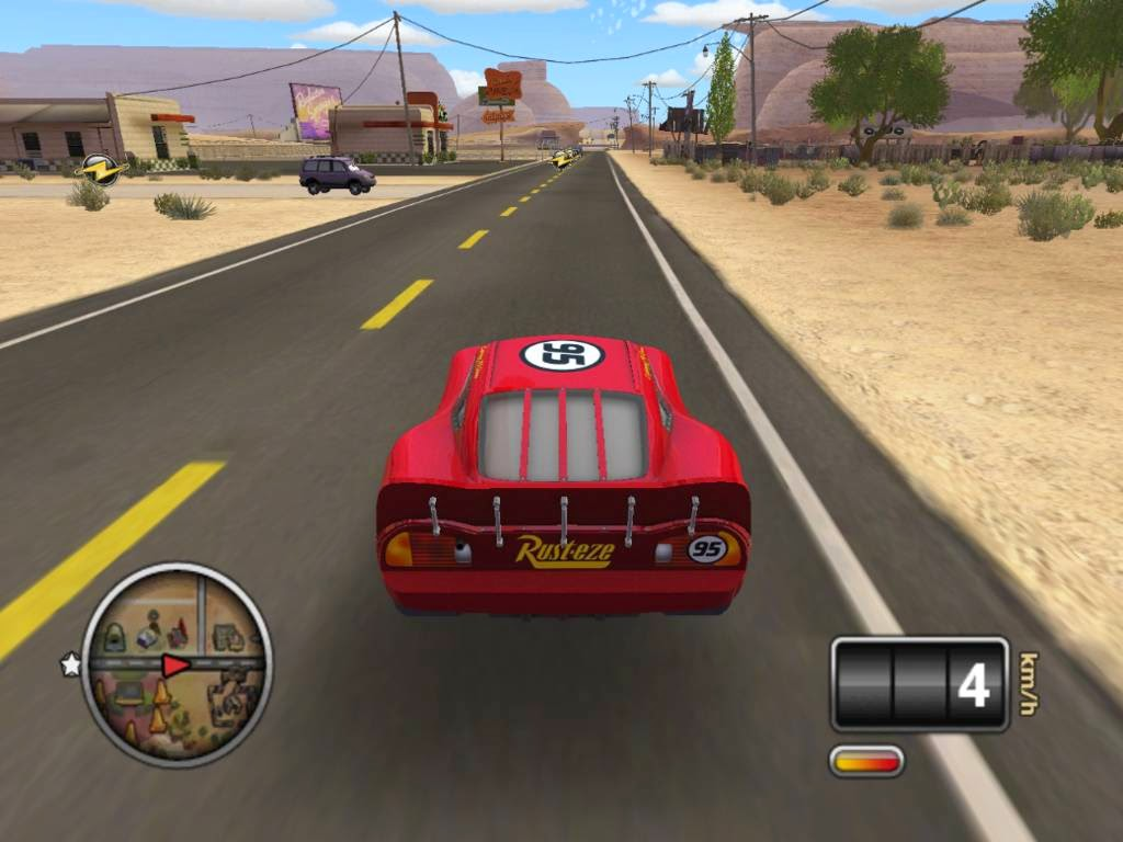 Cars The Video Game - Download Game PC Iso New Free