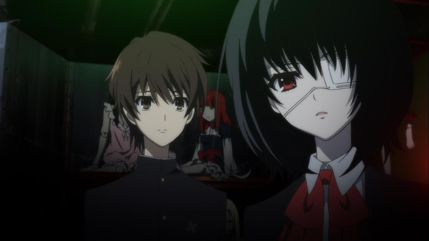 Lead characters kōichi and mei