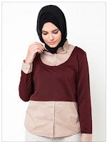 Koleksi Model Kemeja Wanita Muslim Terkini