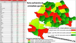 Harta furturilor din societățile comerciale și a tâlhăriilor