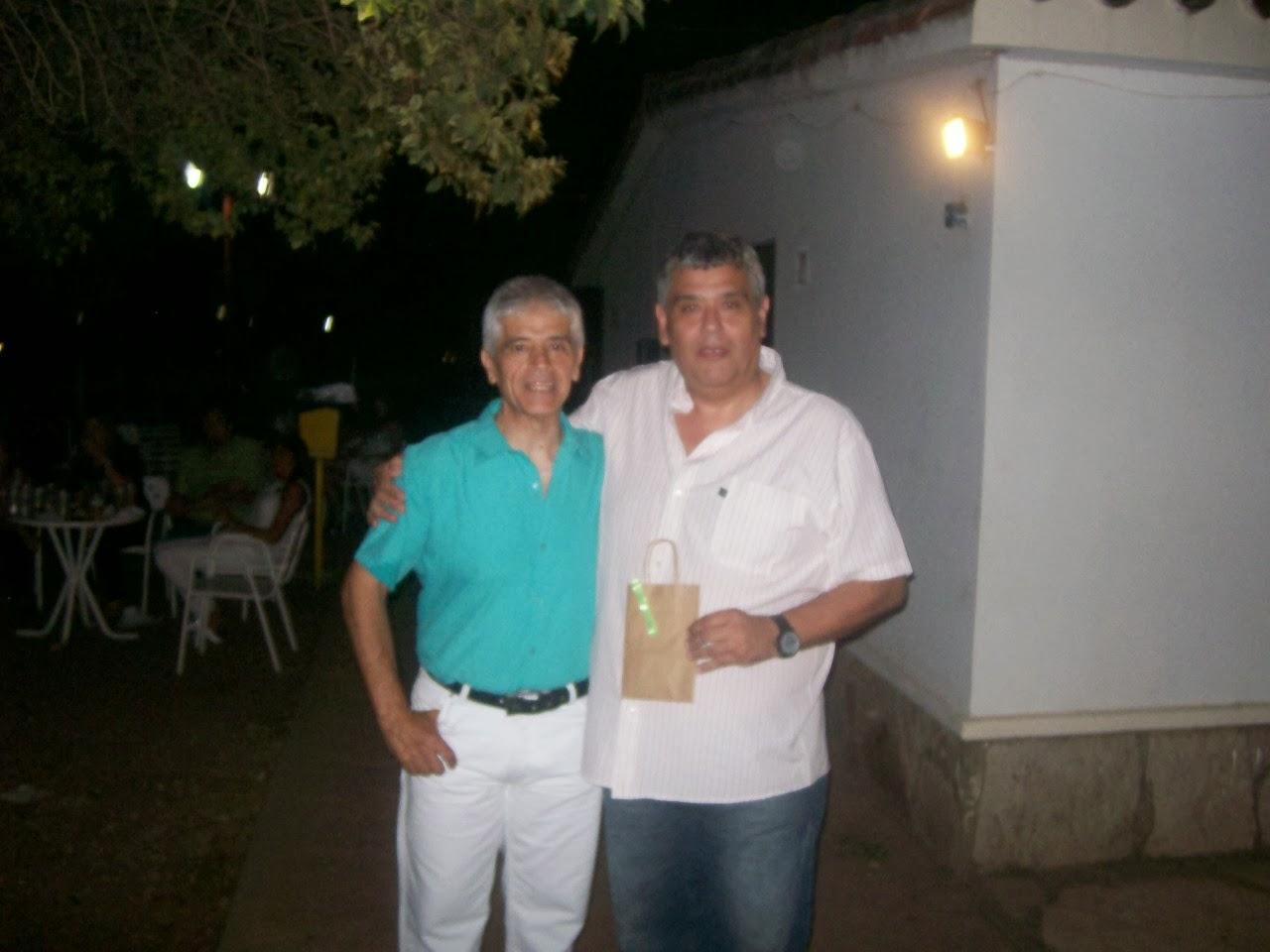 La Federación Cordobesa de Natación distinguió a Rubén Di Liddo