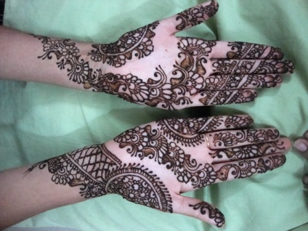 New And Latest Mehndi Designs HD Wallpaper 2012-2013