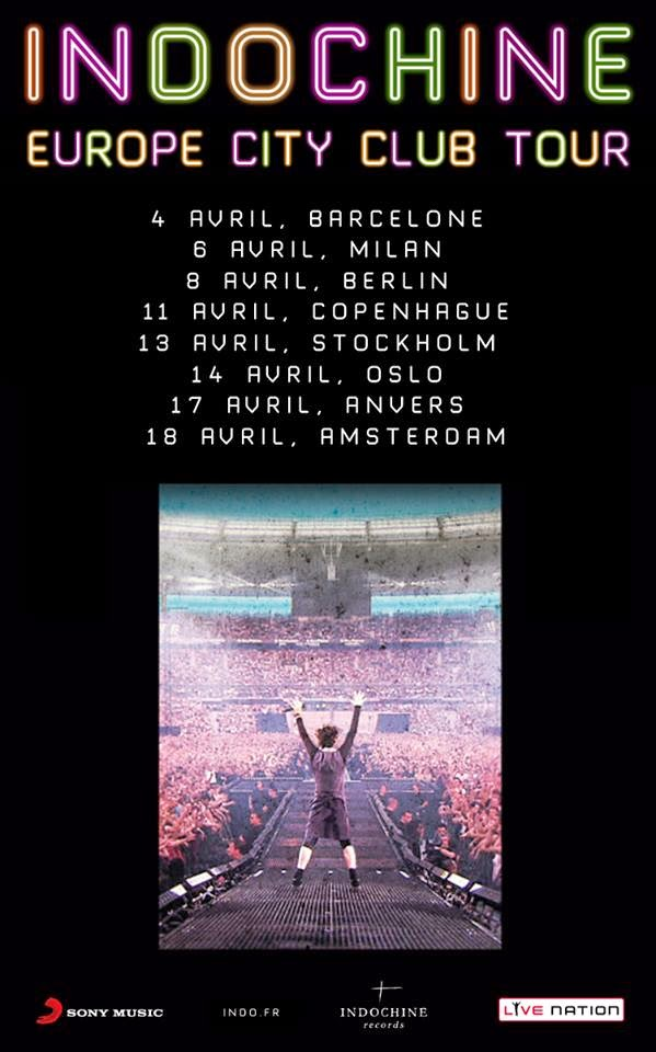 Indochine – Europe City Club Tour