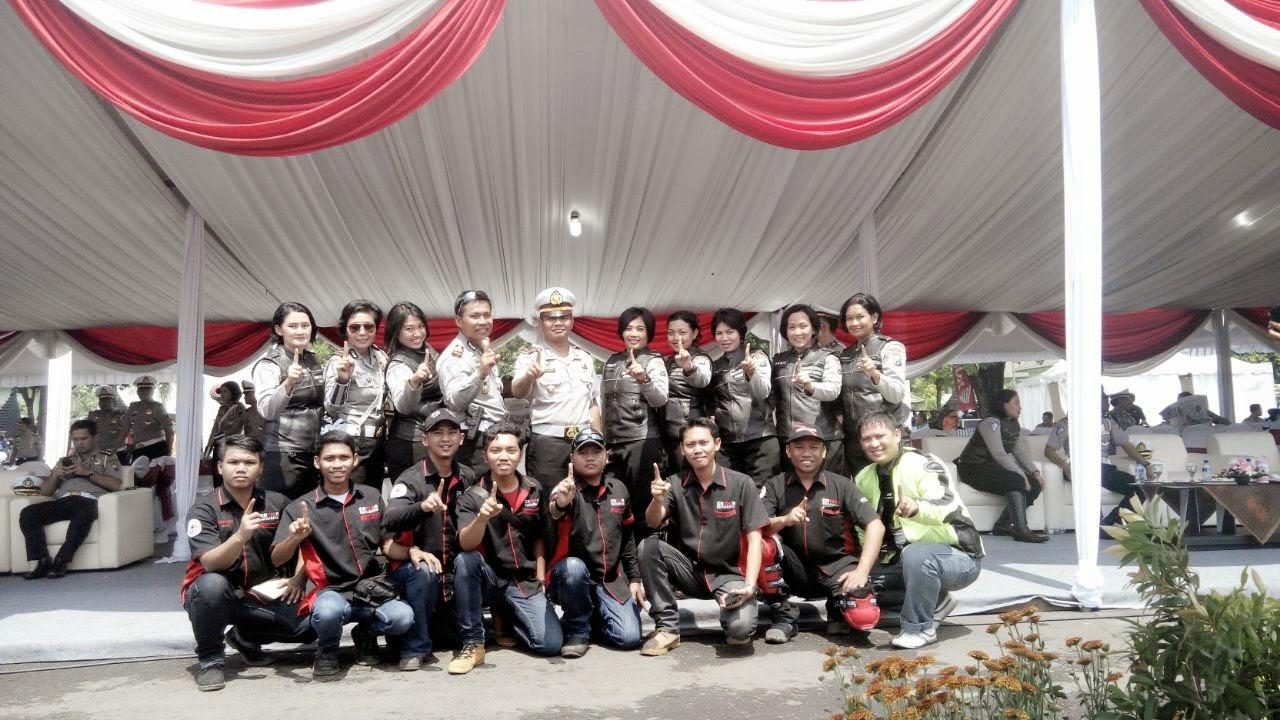 komunitas CB150R Surabaya (KCS) dalam jatim peka 2015