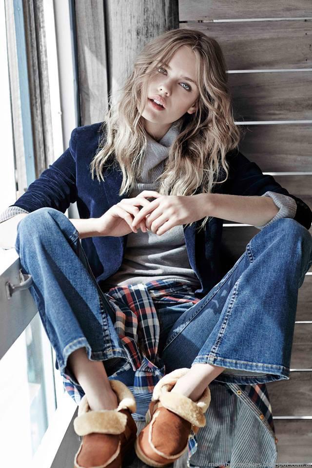 Moda otoño invierno 2015 jeans. Paula cahen D'Anvers otoño invierno 2015.