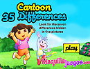 Cartoon 35 Differences