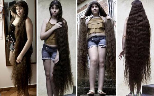 Rambut Wanita ini terjual Rp 44,8 jutaan untuk beli Rumah