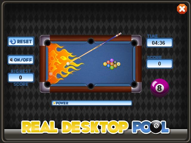 Real Desktop Pool Adware