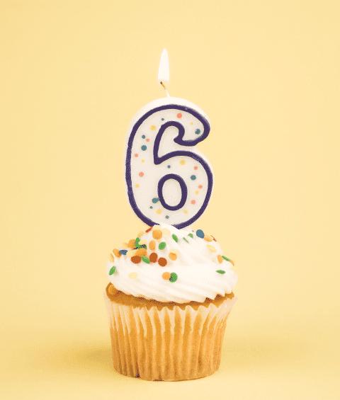 Moi praznuje 6. rojstni dan