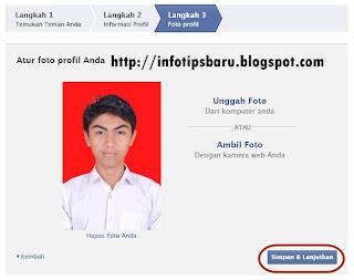 Cara Membuat Facebook / FB Baru + Gambar 8