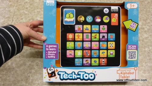 Tech-Too Alphabet Tablet