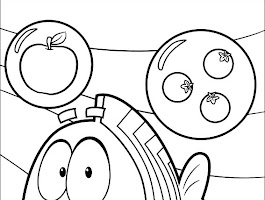 Bubble Guppies Coloring Pages Games