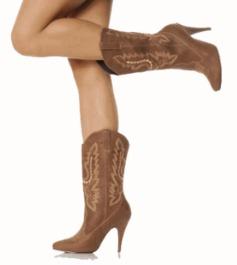 High Heel Cowgirl Boots