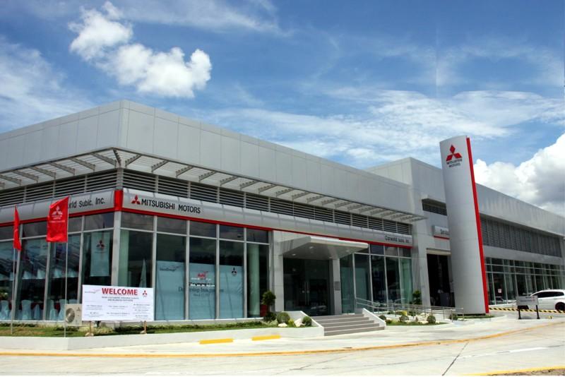 Mitsubishi Motors Expands Dealership With Carworld Subic - Mitsubishi dealer ship