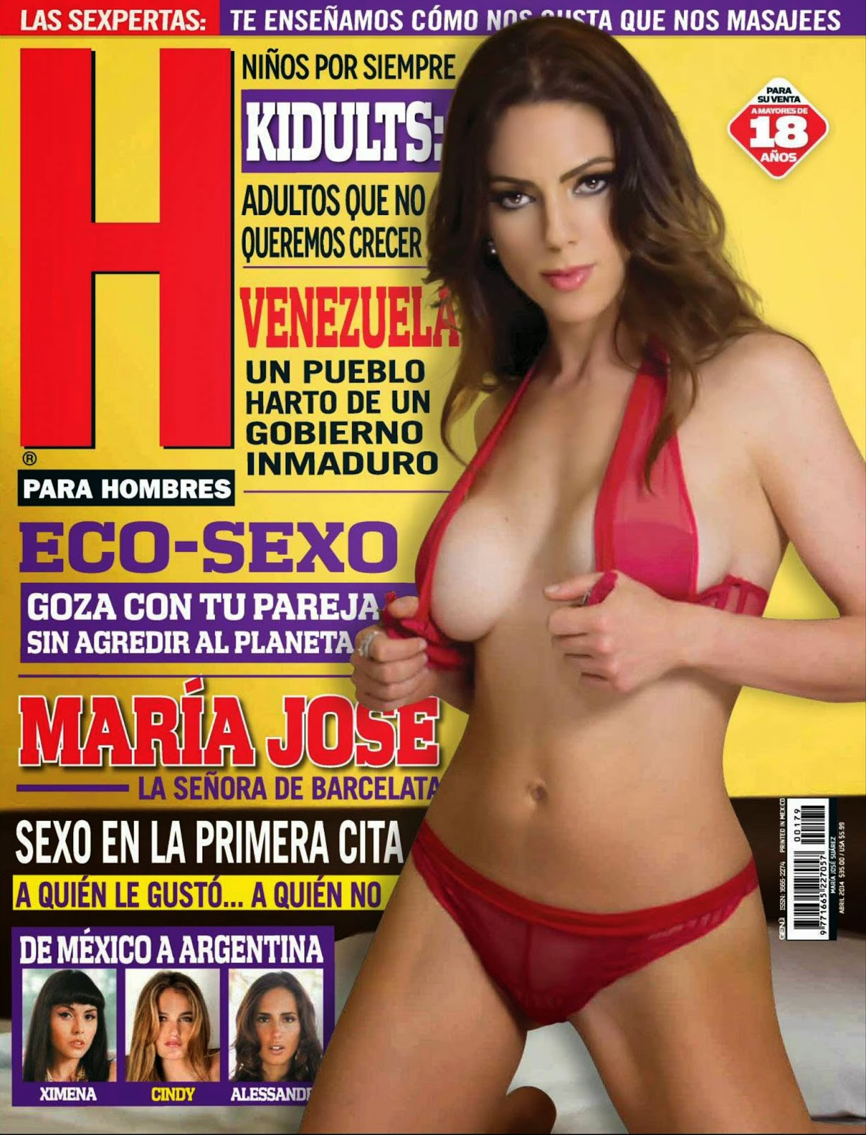 Imagenes Maria Jose en Revista H Abril 2014 | Fotos