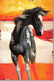Pinturas Coloridas Caballos Modernos