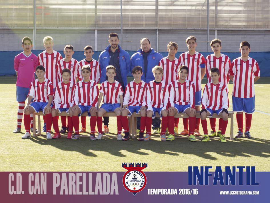INFANTIL C.D.CAN PARELLADA TEMPORADA 2015-16