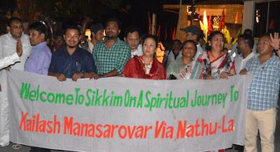 Kailash Mansarovar Yaatra via Nathu la