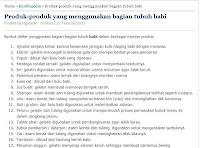 http://www.ngabidin.web.id/2013/02/produk-produk-yang-menggunakan-bagian.html