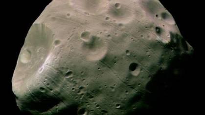 Las lunas de Marte se crearon por una gran colisión con otro planeta