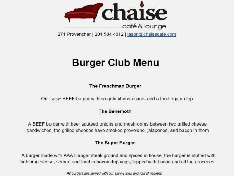 burger club winnipeg chaise cafe 4 5