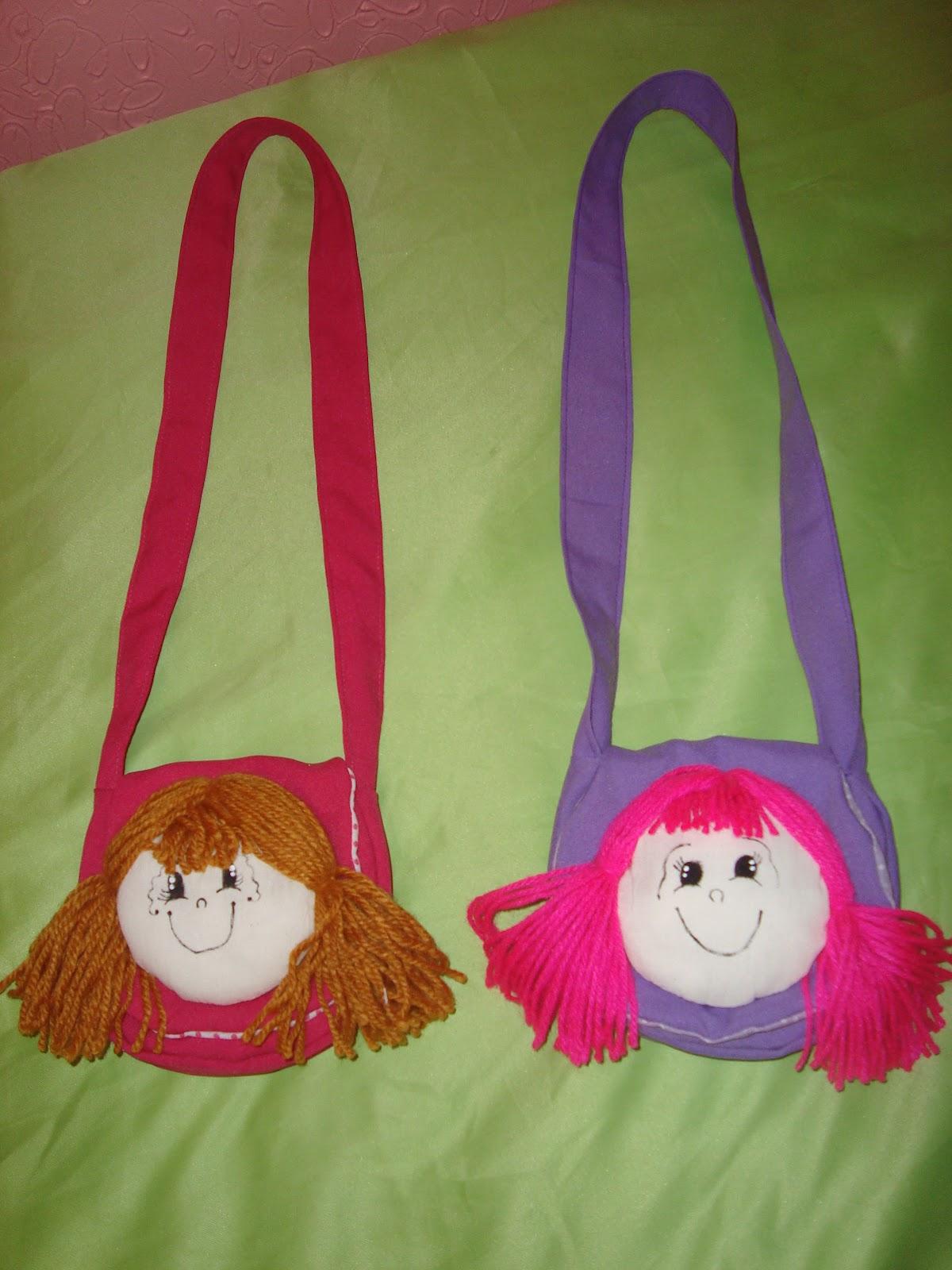 Bolsa Em Tecido Infantil : Artes coisas bolsa infantil de tecido