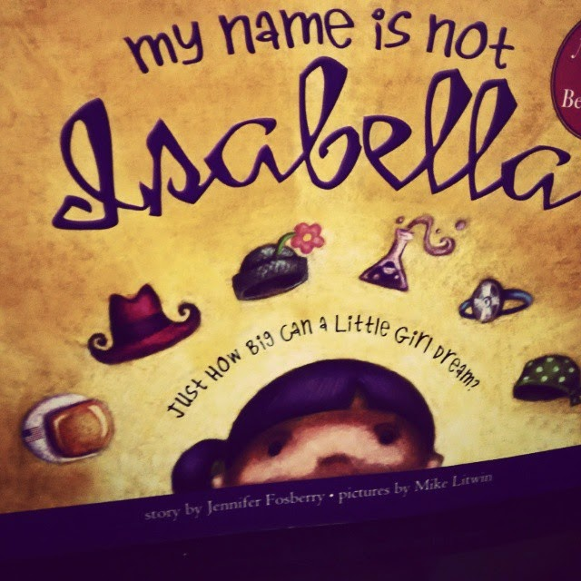book my name is not isabella