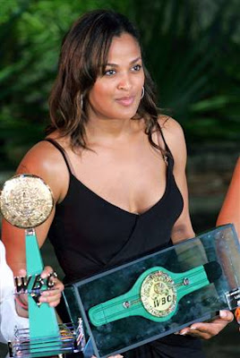 Top Sports Players: Laila Ali Biography and Pictures