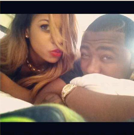 yvonne nwosu ice prince on bed